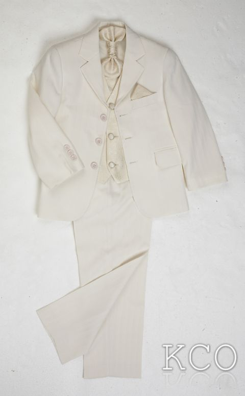 Brampton Cream/Cream~ Boys Suits